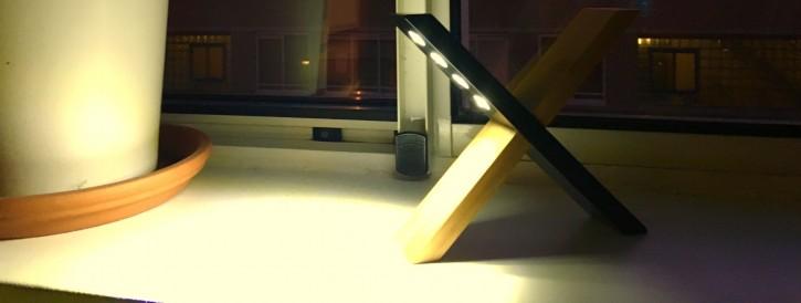 Hier review bureaulamp op zonne energie - Kleine zonne lamp ...