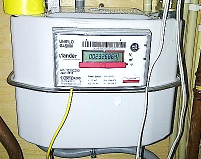 slimme meter gas aflezen